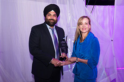 Amrit Sidhu, S&S Insurance & Debbie Coull-Cicchini, Intact Insurance